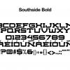 sports-font-southside-bold-glyphs