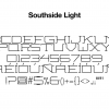 sports-font-southside-light-glyphs