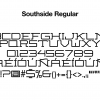 sports-font-southside-regular-glyphs
