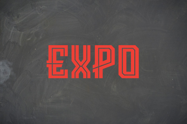 expo sports font