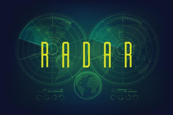 radar sports font typedrift