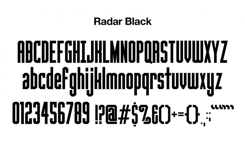 sports-font-radar-black-glyphs