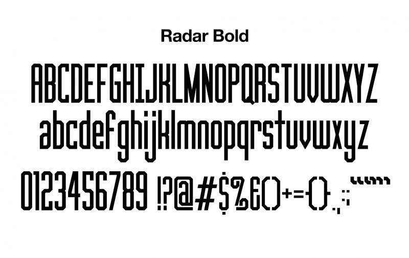 sports-font-radar-bold-glyphs