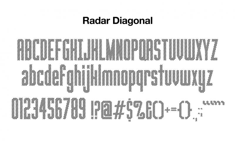 sports-font-radar-diagonal-glyphs