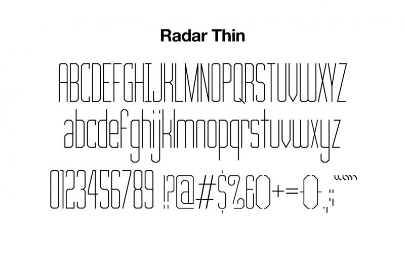 sports-font-radar-thin-glyphs