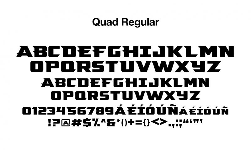 sports-font-quad-regular-glyphs