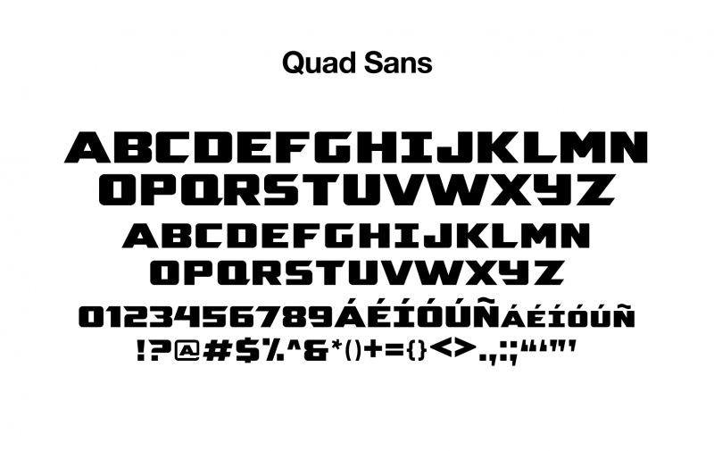 sports-font-quad-sans-glyphs